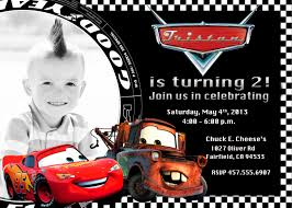 disney cars st birthday party invitations disney cars pixar disney cars lightning mcqueen and mater birthday by funpartyprints