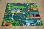 Kids Collection Roads Pattern Carpet - Carpetright