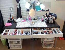 video beauty room tour updated makeup collection getglammedup shabby chic home decor home decor beauty room furniture