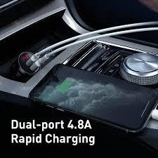 <b>Автомобильное зарядное устройство Baseus</b> All Metal Dual USB ...