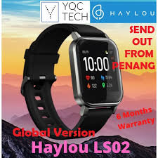 [<b>Haylou</b> Malaysia] <b>Haylou LS02</b> Xiao-Mi <b>LS 02</b> Smart Watch 2 <b>1.4</b> ...