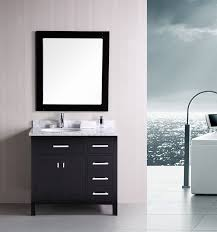 contemporary bathroom vanity solid