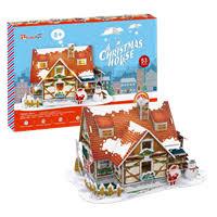 Пазл <b>CUBIC FUN рождественский домик</b> (с подсветкой) P647h ...