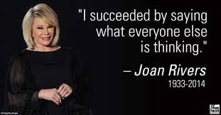 RIP Joan Rivers: The Best Memes & Quotes | Heavy.com via Relatably.com