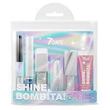 7DAYS <b>Подарочный набор</b> для макияжа, <b>косметичка</b> SHINE ...