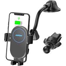 Wireless Car Charger,10W Qi Fast Charging <b>Auto</b>-<b>Clamping</b> Car