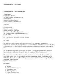 cover letter academic advisor cover letter 2015 cover letter for cover letter academic career advisor resume