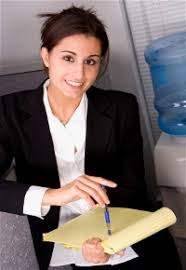 Job Headhunters - Working with Recruiters to Land Your Next Job woman recruiter against water cooler