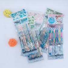 Aliexpress.com : Buy <b>12pcs</b>/<b>set</b> Gel <b>Pens</b> Refills Cute Stationery ...