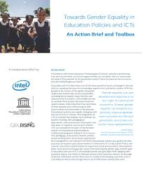 resource search results ict in education policy platform towards gender equality in education policies and icts an action brief and toolbox