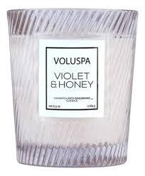 <b>Ароматическая свеча Violets &</b> Honey