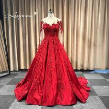<b>Leeymon</b> Wedding Dress Appliques Beaded <b>Vintage</b> Satin Ball ...