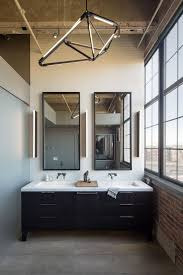 modern bathrooms master bathroom design master bathroom with modern chandelier in denver by robb studio amp st