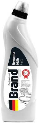 <b>Белизна</b>-<b>гель Brand</b> Professional, <b>750 мл</b> - Бытовая химия во ...
