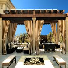 Image result for outdoor curtains on deck