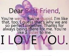 Best Friend Quotes and Sayings for Girls | best, friend, girls ... via Relatably.com
