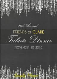 simply moyer receives annual dinner invitation stephen moyer on 10th the clare foundation will hold their 19th annual friends of clare tribute dinner once again we re thrilled to be invited
