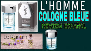 <b>L'HOMME COLOGNE BLEUE</b> yves saint laurent - YouTube