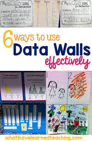 best images about teaching resources in the 6 ways to use data walls effectively