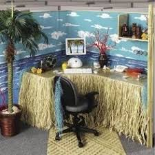 artistically decorated office cubicles beach theme my summer cubicle for sure beach office decor