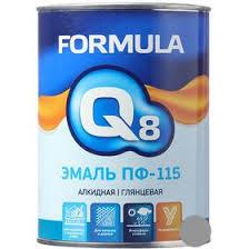 Купить <b>Эмаль ПФ</b>-<b>115</b> серая 0,9кг <b>Формула Q8</b> (14) по лучшей ...