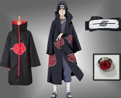 <b>Halloween Anime</b> NARUTO Uchiha Itachi <b>Cosplay Costume</b> ...