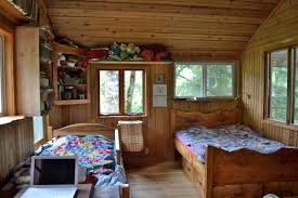 Bedroom For Two Twin Beds Two Kids In One Bed And A Tour Of Cabin Living Quarters