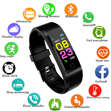 ZAPET New Smart Watch <b>Men</b> Women <b>Heart Rate Monitor</b> Blood ...