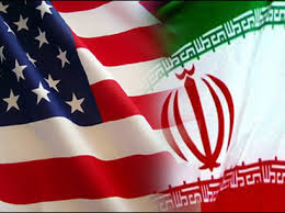 Image result for IRAN-USA FLAG