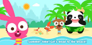 Purple Pink <b>Summer Beach</b>-Kids Party Education App - Apps on ...