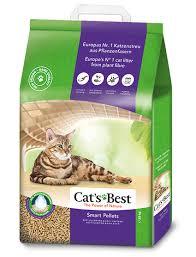 <b>Наполнитель Cat's Best</b> Smart Pellets Древесный комкующийся 10кг