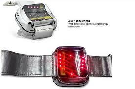 <b>650nm</b> Wrist Watch <b>Blood Pressure</b> Cold Laser health care ...