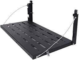 Jeep Products MMR078 <b>Metal Rear</b> Door Shelf Utility Cargo Rack ...