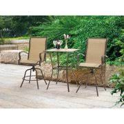 Mainstays Wesley Creek <b>3</b>-<b>Piece Bar</b> Set, Tan - Bistro Sets wer23