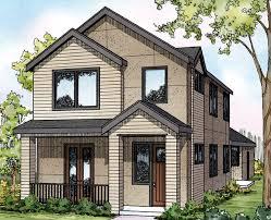 New House Plan  Eastlake     Associated DesignsEastlake     Townhome   Contemporary Home Plan