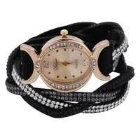 <b>Duoya</b> Luxury Brand Watch Women Gold <b>Dress Crystal Rhinestone</b> ...