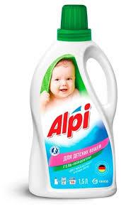 Гель для стирки <b>GraSS Alpi</b> для детских вещей купить по цене ...