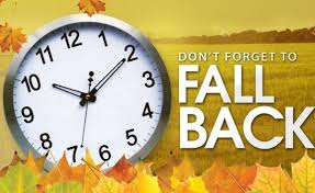 FYI:  'FALL BACK' THIS WEEKEND - Details of Daylight Saving Time
