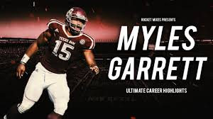 myles garrett potential pick ultimate career highlights myles garrett potential 1 pick ultimate career highlights