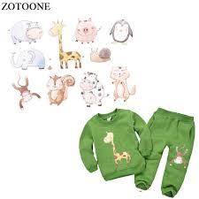 <b>ZOTOONE Iron</b> On <b>Cartoon Unicorn</b> Patches Set Heat Transfers For ...