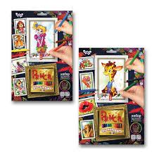 <b>Раскраска</b> по номерам <b>Danko Toys</b> для карандашей <b>Pencil</b> by ...