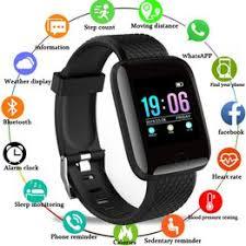 Smart Watch Men Blood Pressure Waterproof Smartwatch ... - Vova