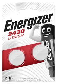 <b>Батарейки Energizer Lithium CR2430</b> 2 шт/бл 7638900379914 ...