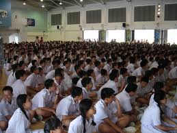 should school uniforms be mandatory in high schools writework students of nan hua high school gathering in the school hall