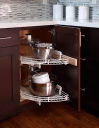 Kitchen Cabinets Lazy Susan 30 Corner Drawers And Storage Solutions For The Modern Kitchen