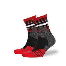Купить <b>носки</b> средние <b>Stance Basketball Performance</b> Trey Red в ...