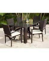 source outdoor zen st tropez all weather wicker patio dining set seats 6 brown set patio source outdoor