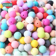 <b>Bopoobo 100pcs</b> Baby Nursing Accessories <b>Silicone Beads</b> Food ...