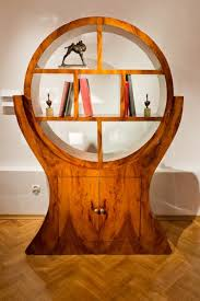 art deco round circle open shelves art deco furniture style art