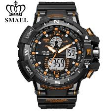 <b>SMAEL Top Brand</b> LED Digital Sport Quartz Men's Wrist Watches ...